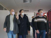 El ministro Trotta visitó el campus de la Unrn