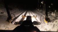 Extrema precaución y uso de cadenas para circular en la ruta