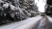 Por pronóstico de fuertes heladas, se solicita extremar precauciones en las rutas
