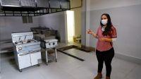 Ultiman detalles para inaugurar la remodelación de la cocina del hospital zonal