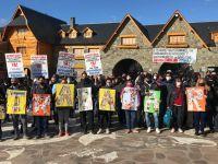 Trabajadores y empresarios del sector reclamaron en el Centro Cívico