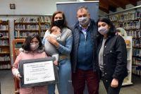 Con un homenaje a Eduardo Ehlers, reabrió la biblioteca municipal