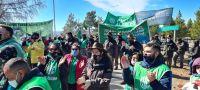 Levantan el corte en el ingreso al aeropuerto de Bariloche