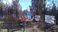 Ocupación en Cuesta del Ternero: se inició una instancia de diálogo