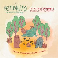 Comienza el primer Festivalito de Cine para niños y niñas en Bariloche