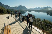 Comenzó el fin de semana largo y muchos turistas llegan a Bariloche