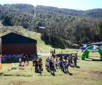 En El Bolsón, el trail se preparó para una fiesta deportiva que no fue tal