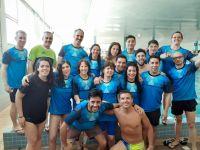 La natación Master vivió una fiesta en Piletas del Nahuel
