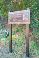 Mejoraron la señalización en el sendero del lago Guillelmo