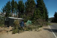 Continúan con los trabajos para restituir la energía eléctrica luego del temporal