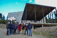 Avanza la construcción del teatro público en Bariloche