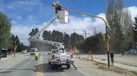 Modificaciones en el semáforo del kilómetro 8,500 de Pioneros