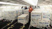 Llegan 843.000 dosis de AstraZeneca y otro lote de Sputnik V