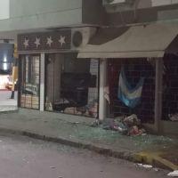 Repudio de la dirigencia política local al atentado contra un local del FdT