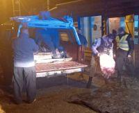 La Brigada Rural secuestró leña nativa y carne faenada clandestinamente en El Bolsón