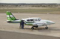 El avión provincial trajo un nuevo lote de medicamentos a Bariloche