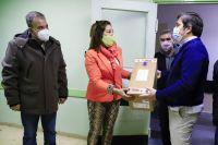 Salud entregó equipos de oxigenación en hospitales de la zona