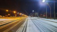 Nevó en el Valle y en la Región Sur