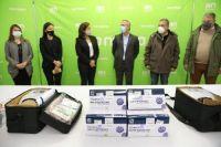 El Banco Patagonia donó elementos para reforzar la atención