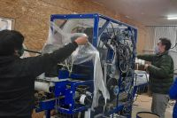Una cooperativa rural logró adquirir maquinaria importada