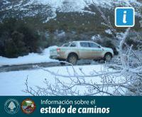 Estado de rutas: transitables pero con presencia de hielo