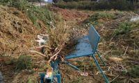 Exitosa prueba piloto para el tratamiento de residuos forestales en el Oeste