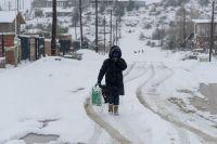 Alerta amarilla por nevadas en la región