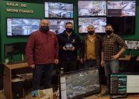 Se incorporan 15 cámaras al sistema de monitoreo en la ciudad