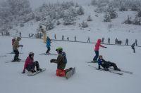 Se suman medios de elevación y pistas para esquiadores y snowboardistas