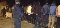 Desarticularon una fiesta clandestina y hubo más de 50 detenidos