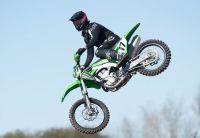 Con moto nueva, Luzzardi subió al podio en Córdoba